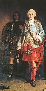 'Lochiel, Chief of Clan Cameron and Prince Charlie' by John Pettie 1846