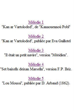 tri martolod paroles traduction