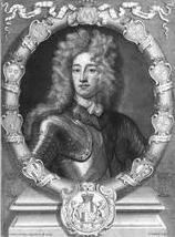 John Erskine, 6th Earl of Mar engraving after Godfrey Kneller (1703)