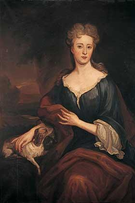 Lady Winifred Maxwell Countess of Nithsdale  1680 - 1749 by Sir Godfrey Kneller, Terregles