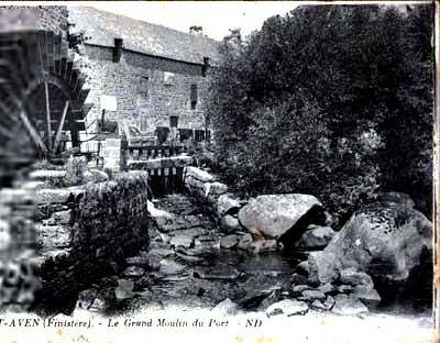 Pont Aven, Grand Moulin du Port