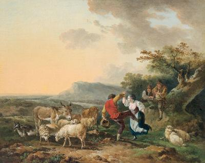 Pastorale by Philippe-Jacques de Lautherbourg